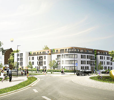 Design for living at Phoenix Lake in Dortmund by Düsseldorf architecture firm greeen! architects