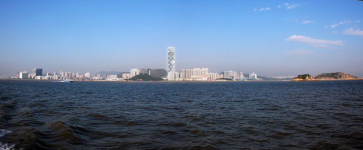 Hochhaus in Zhuhai, China