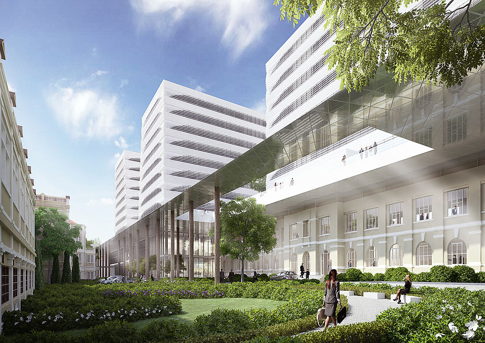 Design by greeen! architects for the new town hall in Ho Chi Minh City in Vietnam