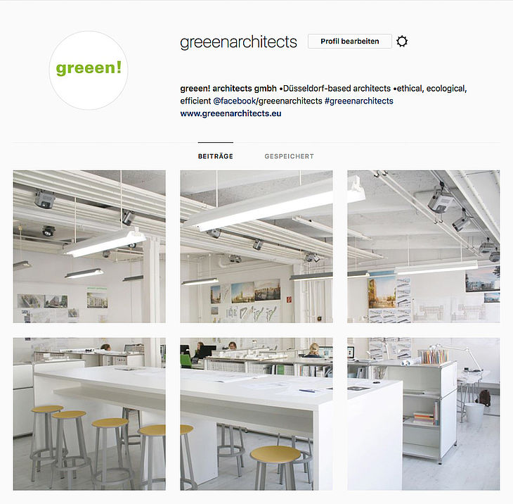 Instagram von greeen! architects
